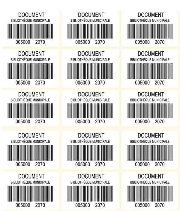 planche etiquettes